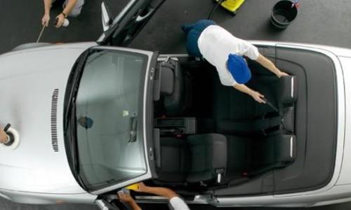 Видеонаблюдение для автомойки