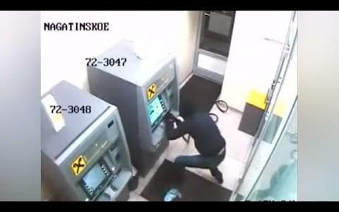 Установка видеонаблюдения для банкомата