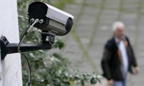 Установка видеонаблюдения на улице